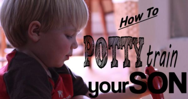 The best potty training tips for boys. Learn the easiest, less stressful way on how to potty train a boy. Should you potty train boys standing up or sitting down?