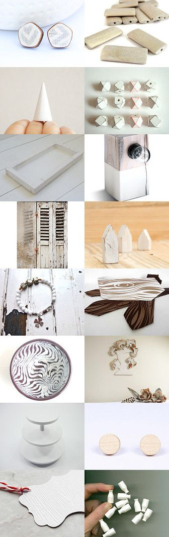 White Wood by Paolo Durandetto on Etsy--Pinned with TreasuryPin.com