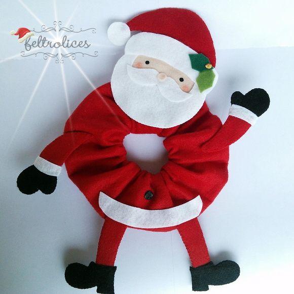 Puppet para lente Papai Noel