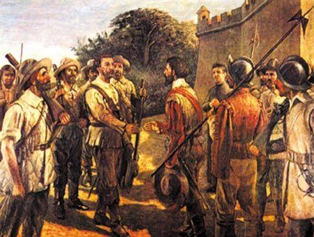 Periplo A. Raposo Tavares - Portuguese Empire - Wikipedia, the free encyclopedia