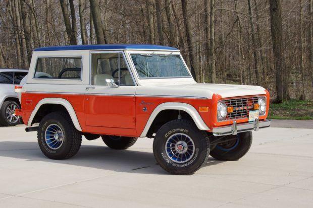 1975 Ford Bronco Denver Broncos Edition Ford Bronco Bronco