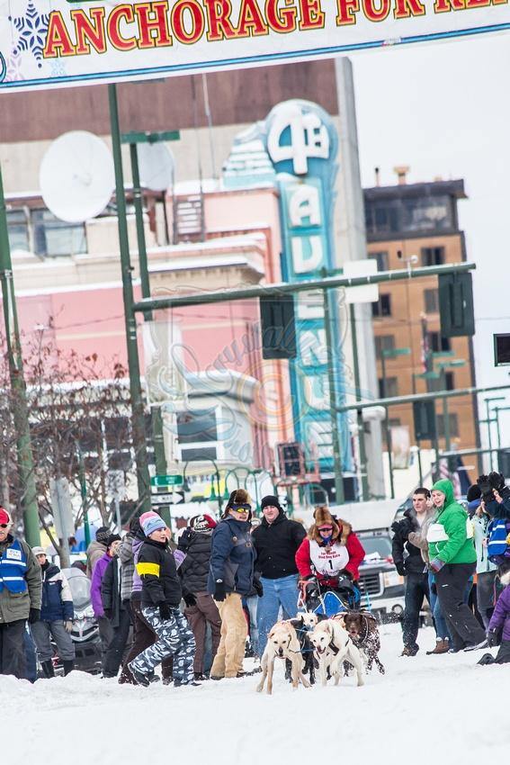 Fur Rondy, 4th Avenue  Downtown Anchorage, Alaska
