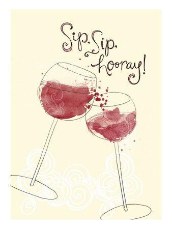 sip sip hooooooray!!! leuk alternatief op saaie verjaardagswensen voor wijnliefhebbers! :-)