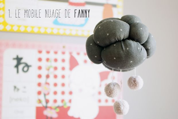 Mobile nuage Fanny  Pleins de DIY