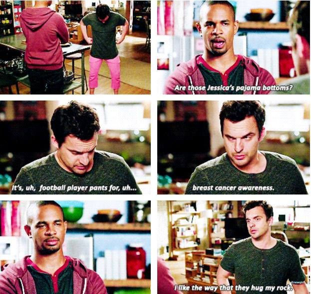 New Girl - Coach & Nick #Season3