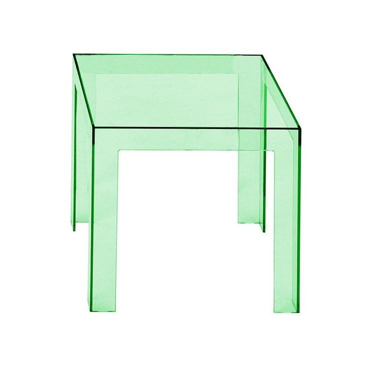 Tavolino in policarbonato trasparente Jolly by Kartell  http://www.keihome.it/giorno/tavolini/jolly-kartell/1750/