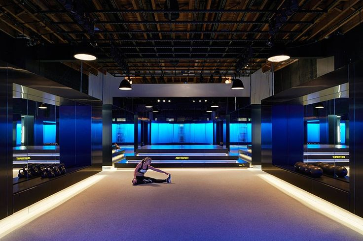 Is Nike's Private Fitness Center the World's Most Beautiful Gym? Photos | Architectural Digest