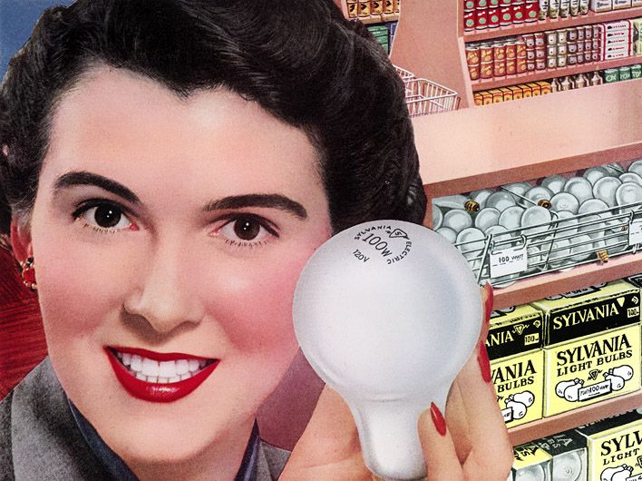 plan59 1950s sylvania light bulbs vintage madison avenue pinterest light bulb and 1950s - Sylvania Light Bulbs