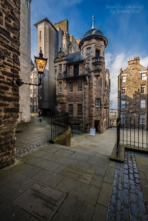 Lady Stairs Close, Edinburgh