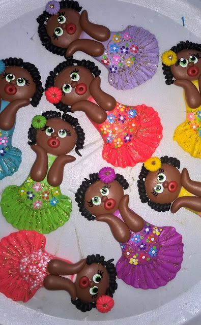 Arte em Biscuit Regiane Carolina: Namoradeirinhas-Imãs                                                                                                                                                                                 Mais