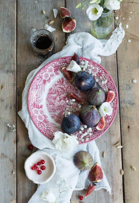 Figs - ingredients shot - Fluffy Vegan Pancakes with Figs - The Little Plantation Blog + Wallflower Kitchen