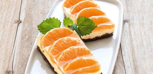 Serniczek  mandarynkowy
