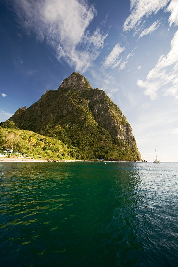 Magnificent Gros Piton, St. Lucia | Enjoy A Laid Back Vacation | View Package Deals!
