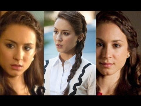 Video: Spencer's Braids from Pretty Little Liars.  I'm not in love with the third braid but 1 and 2 are great! enjoy!