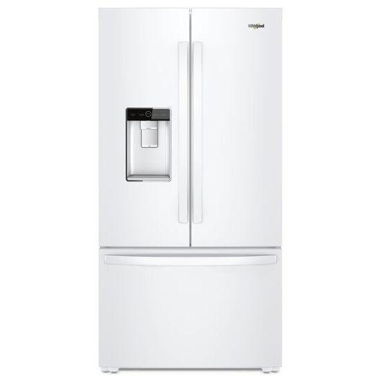 Whirlpool French Door Refrigerator 36 Inch White French Door