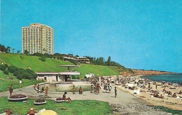 Eforie Nord - Braseria si plaja Meduza (anii '70)