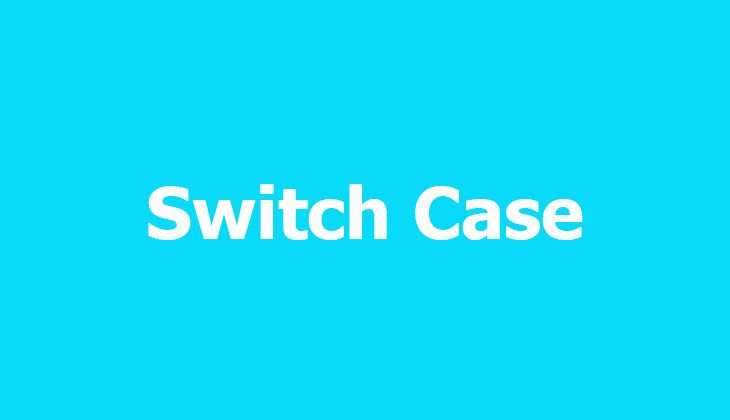 Switch Statement allows a variable to be tested for equality against a list of values. Each value is called a case, and the variable being switched on is checked for each switch case.