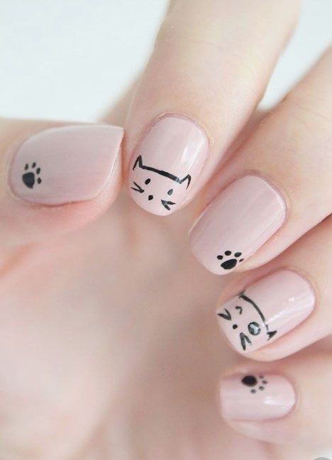 35 Nail Design Ideas For The Latest Autumn Winter Trends: 35 Nail Art Design Ideas For Beginners #dailypinmag