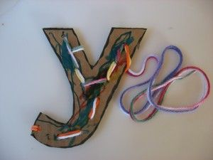 Y is for Yarn