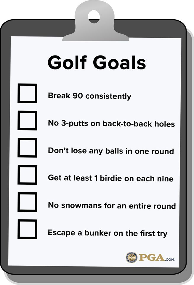 Can you check any of these golf goals off the list? | Rock Bottom Golf #RockBottomGolf