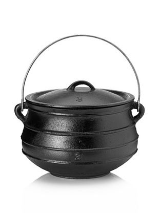 Guro Cast Iron Poy-Ke 3 Without Legs (Rings) African Cast Iron Pot