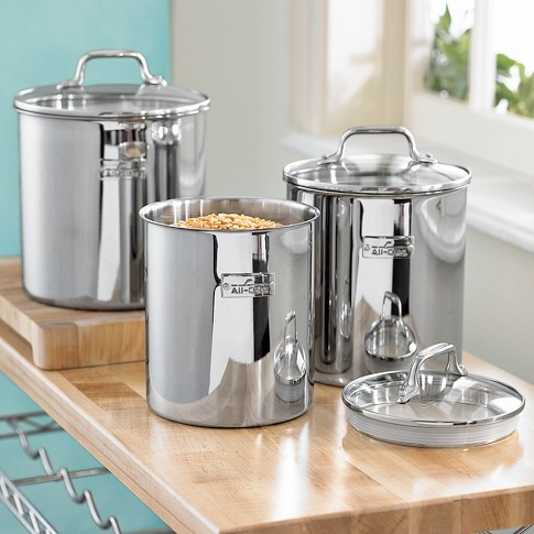 kitchen canister sets stainless steel 78 best images about stainless steel canister sets on 24618