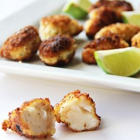 Panko Fried Lobster Bites with Lime