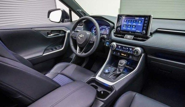 2020 Toyota Rav4 Cabin And More Control Tools