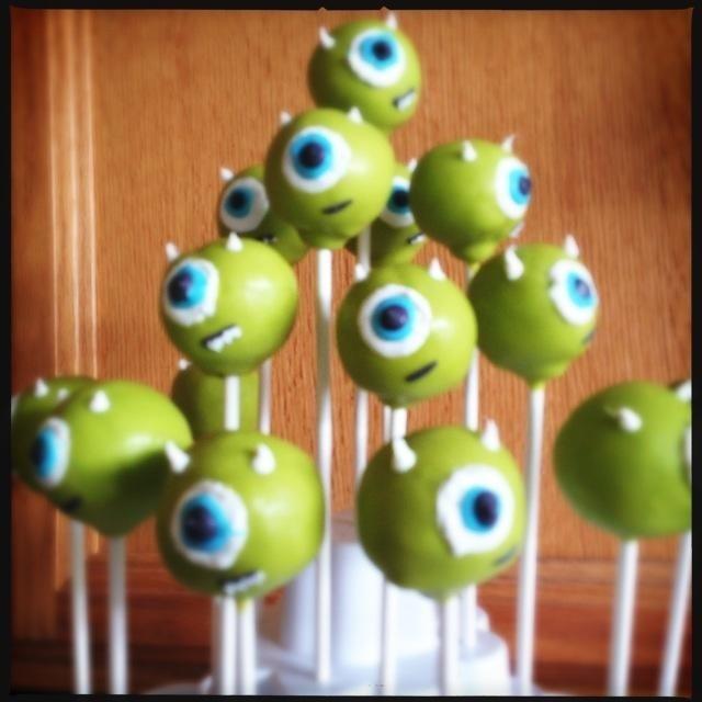 Monster Inc Cake Pops Information