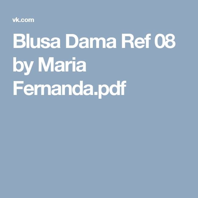 Blusa Dama Ref 08 by Maria Fernanda.pdf