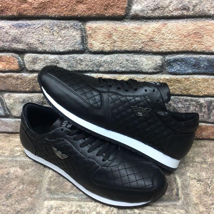 Class Armani Siyah Renk Kare Desen Spor Ayakkabı  WhatsApp Bilgi Hattı ve Sipariş : 0 (541) 2244 541  www.renkliayaklar.net
