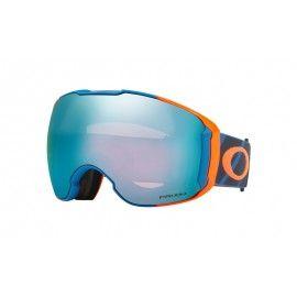 6e3658156d Oakley Airbrake XL PRIZM (Asia Fit) Snow Goggle Hazard Bar Blue frame   Prizm  Snow Sapphire Iridium lens