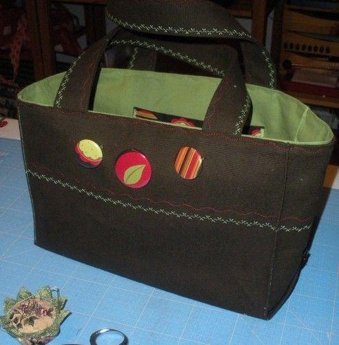 Un petit sac cabas tout simple et rapide. (tuto DIY)
