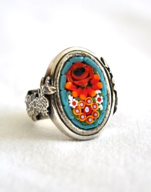 Antique fusion jewellery by fanny