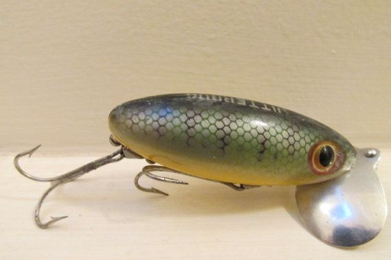 1344 best vintage fishing lures images on pinterest for Bass fishing worms