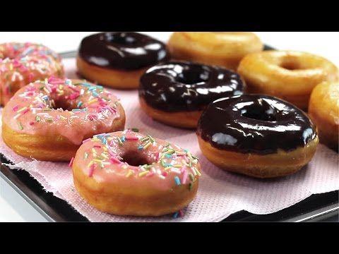 Как приготовить пончики - YouTube