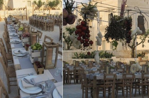 puglia wedding reception: if you love genuine food this is the place!