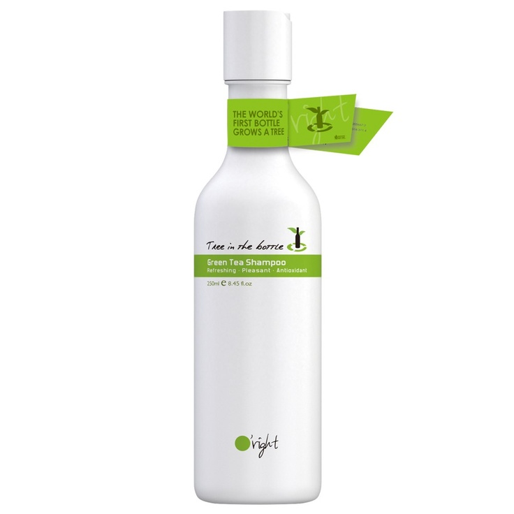 The world's first bottle that grows a tree! After use, simply plant this shampoo bottle into the ground and the biodegradeable plastic will break down into a nourishing fertilizer that feeds the seed embedded within the shampoo bottle. In 9 - 12 months, the shampoo bottle will begin growing into a healthy tree. Ask your salon or stylist if they know about this! Spread the word!: Empty Bottle