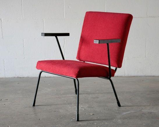 Wm. Rietveld Chair No. 9 for Gispen