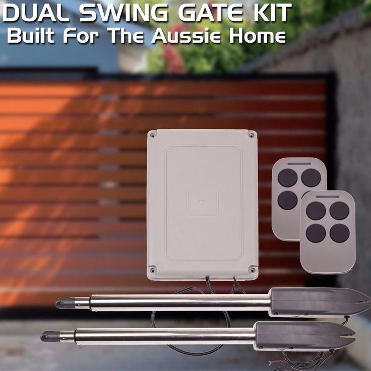 300kgs Dual Swing Gate Operator for home automation including remote control and controller/swing gate opener/swing gate motor