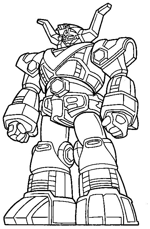 Cool Power Ranger Robot Coloring Pages,download printable ...