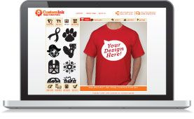 """""""TryCustomInk.com is where you can make your own t-shirts for your sports team, buisness, etc."""""""