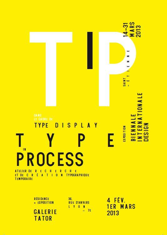 """Type in process"""", une résidence de Damien Gautier et Quentin Margat à la Galerie Tator ainsi qu'une exposition à la Biennale internationale de design de Saint-Étienne."""