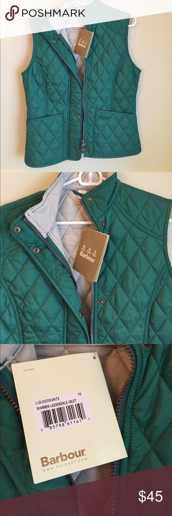 Barbour Vest Never been worn Green Barbour Vest! Barbour Jackets & Coats Vests