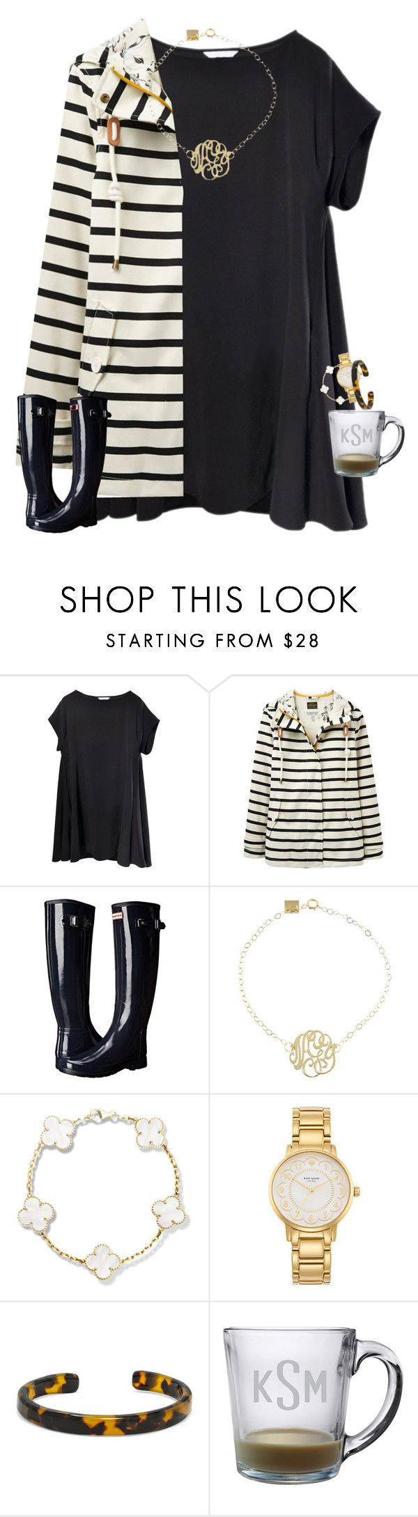 """Fri yay"" by tristin-loves-dance ❤ liked on Polyvore featuring Joules, Hunter, Ginette NY, Kate Spade and BaubleBar"