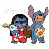 Pin 41847: DisneyShopping.com - Halloween Lilo & Stitch