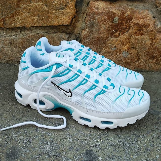 Nike Air Max Plus TN White Blue Size Man Price: 15990