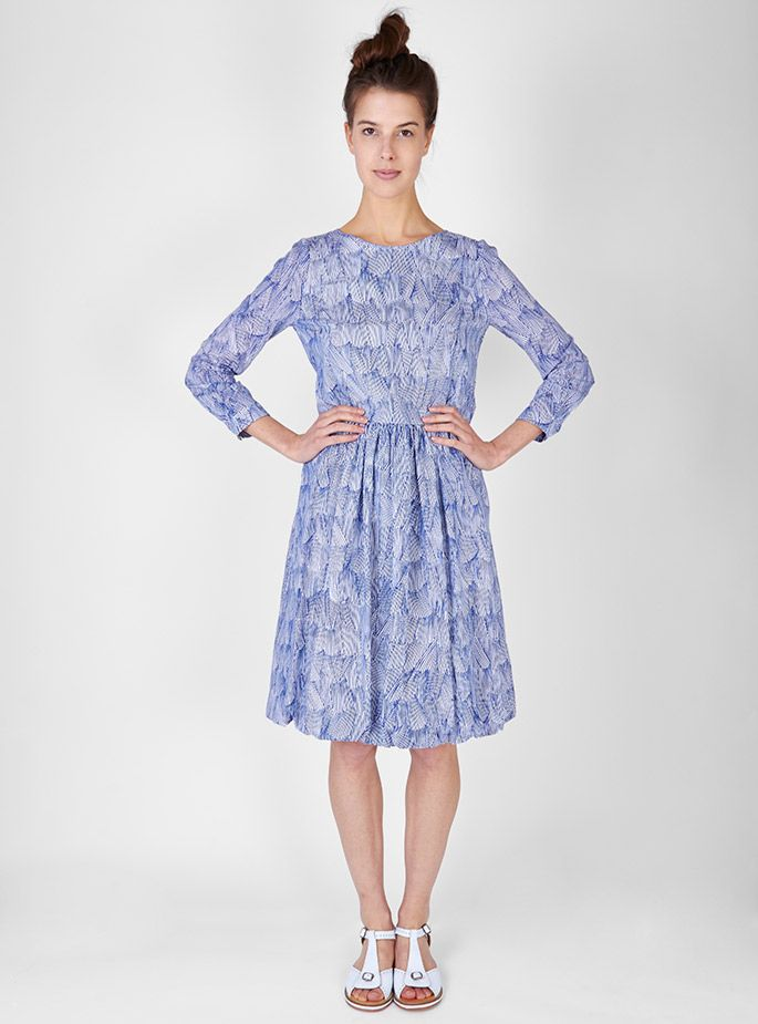 Couverture and The Garbstore - Womens - Minä Perhonen - Ripple Marks Dress