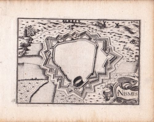 Gravure XVIIe Nîmes Gard Christophe Tassin 1634   eBay 4e11831fc96