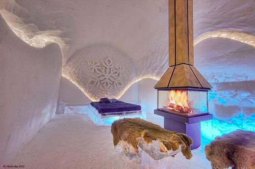 Ice Hotel. one of the many eccentric places to visit before I die
